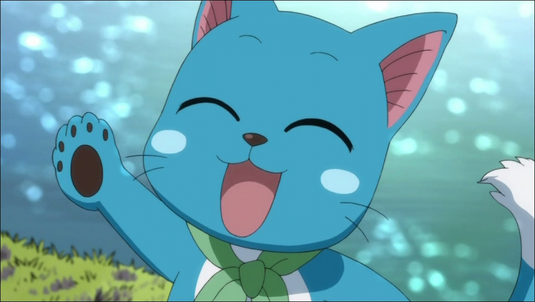 Qui est ce chat accompagnateur de Natsu ?