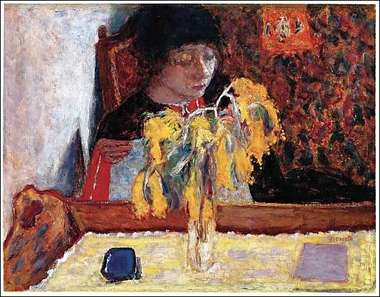 Qui a peint  Femme et mimosa  ?