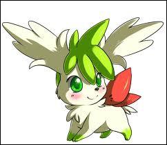 Encore un Pokémon de type plante .