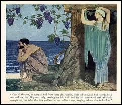 Quel est le nom actuel de l'île Ogygie où la nymphe Calypso garda Odysséus prisonnier 7 années, et où se situe-t-elle ?