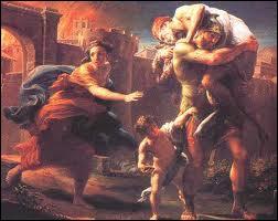 Après la prise de Troie, Enée, prince troyen s'enfuit. Il était chargé de fonder la nouvelle Troie en Hespéride. Mais où accosta-t-il finalement ?