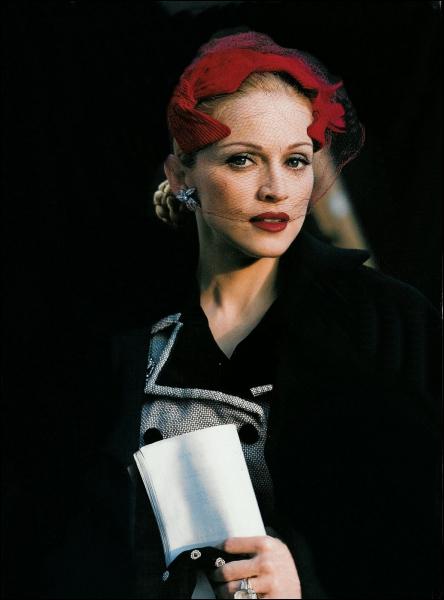Madonna s'est mise dans la peau de :