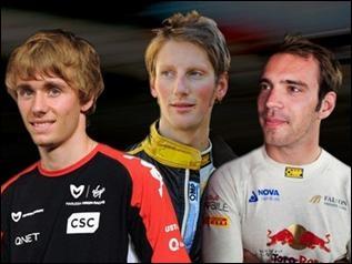 Dans quel sport vont participer 3 Français (Romain Grosjean, Charles Pic et Jean-Eric Vergne) en 2012 ?