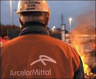 Que produit le groupe ArcelorMittal ?