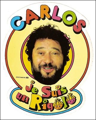 C'est en antillaise que Carlos chantait ce titre, qu'il consacra ensuite à une célèbre boisson aromatisée aux fruits. C'est ?