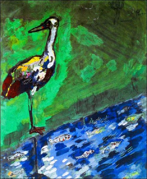 Quelle fable est représentée dans cette toile ?