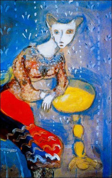 Quel est le titre de la fable représentée sur cette toile ?