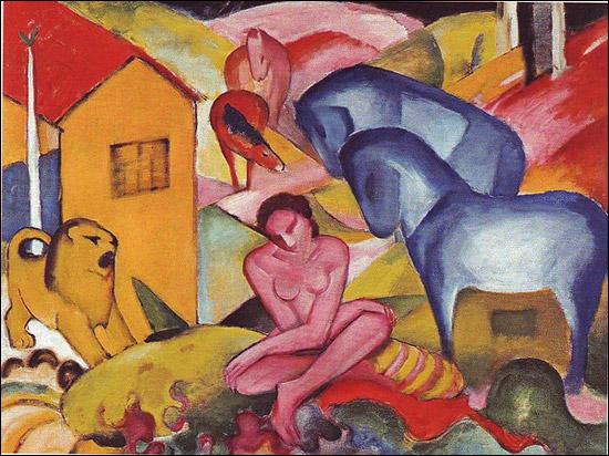Est-ce Chagall qui a peint Le rêve ?