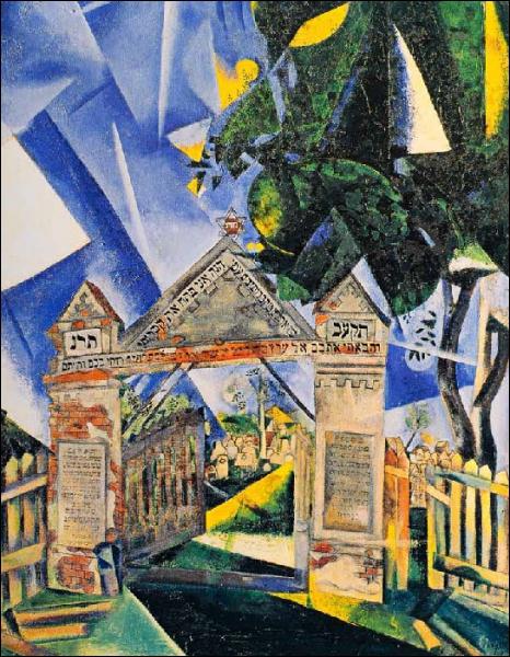 Est-ce Chagall qui a peint Les portes du cimetière ?