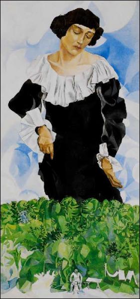 Est-ce Chagall qui a peint Bella au col blanc ?