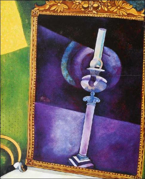 Est-ce Chagall qui a peint Miroir ?