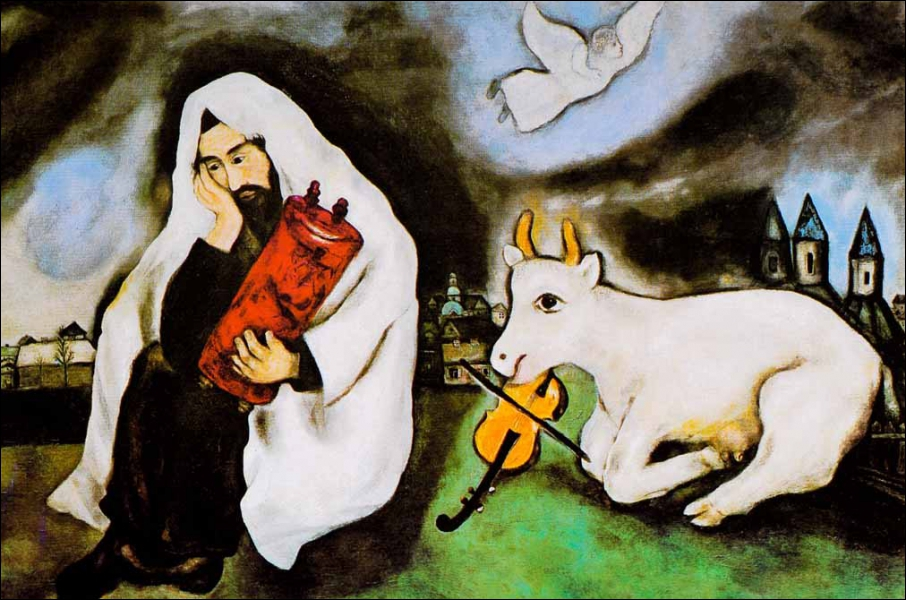 Est-ce Chagall qui a peint Solitude ?