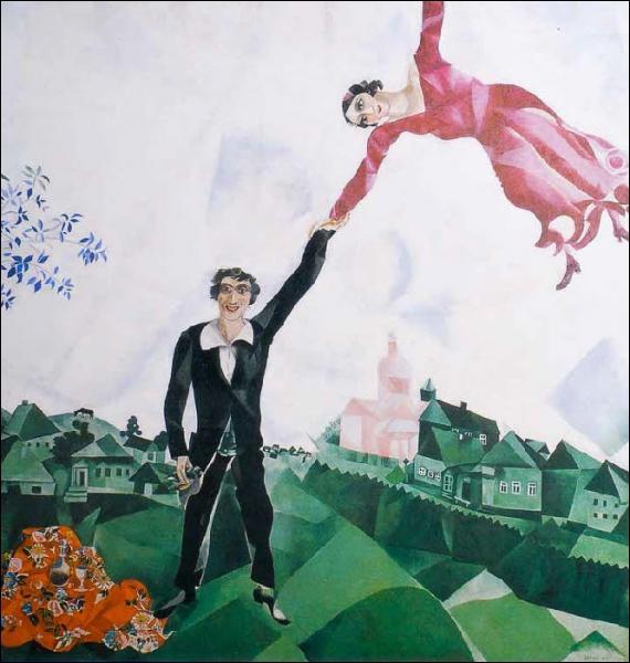 Est-ce Chagall qui a peint La promenade ?