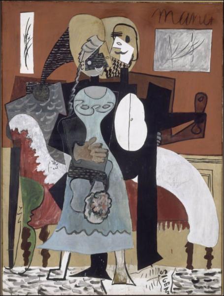 Est-ce Chagall qui a peint Les amoureux ?