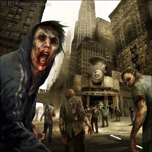 Série de 2010, après l'apocalypse, le policier Rick Grimes tente de réunir les survivants tout en luttant contre des zombies !