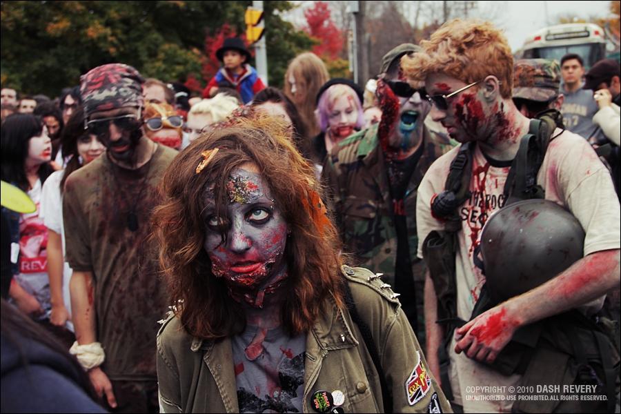 Le monde est infesté de zombies, deux hommes, Colombus et Tallahassee tentent de survivre, Wichita et Little Rock les rejoignent !