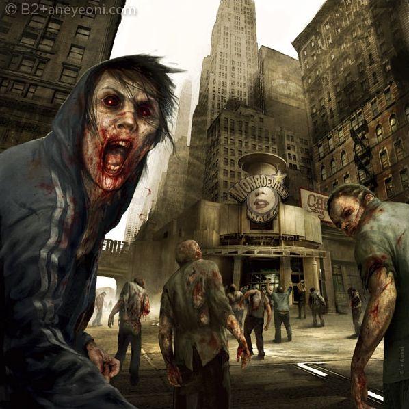 Zombies et morts-vivants !