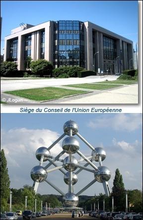 Dans quelle ville se situe le Conseil de l'Union européenne ?