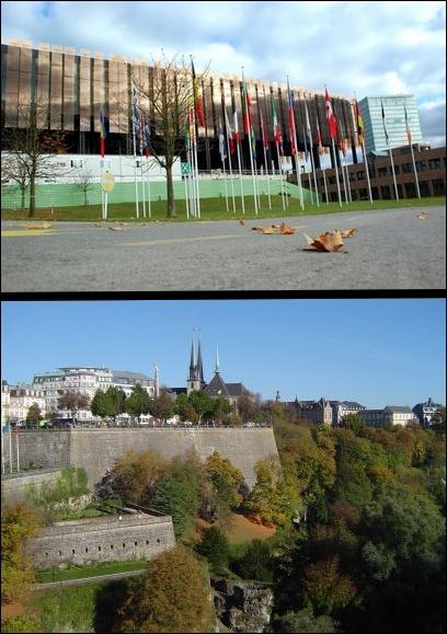 Dans quelle ville se situe la Cour de justice de l'Union européenne ?
