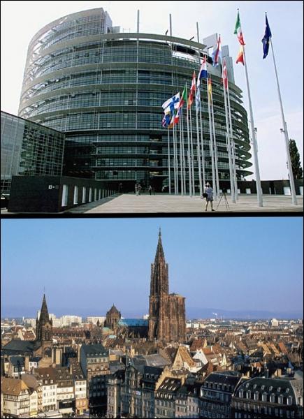 Dans quelle ville se situe le Parlement européen ?