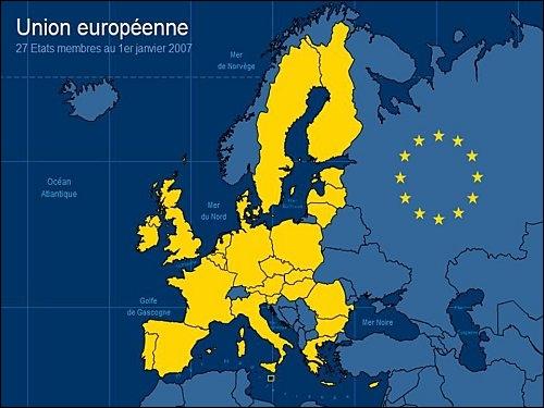 Combien d'États membres l'Union européenne compte-t-elle en mars 2012 ?