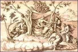 Fille de la Titanide Phoïbé, Zeus lui donna deux enfants, des jumeaux. Héra qui avait découvert l'infidélité de son mari la chassa et ordonna à toutes les terres de lui refuser l'hospitalité.