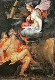 Fille d'Inachos, elle séduisit Zeus par son charme. Pour éviter la colère d'Héra il la changea en génisse. Connaissant l'infidèle, Héra la confia à Argos aux 100 yeux, qui ne dormait que de 50 yeux.