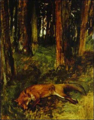 Qui a peint Le renard mort ?
