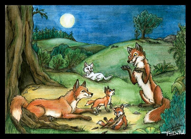 Dans quelle fable de La Fontaine nous présente-t-il le renard dédaignant l'inaccessible ?