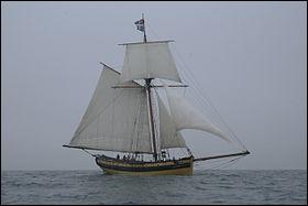 A quel corsaire surnommé le diable appartenait le bateau appelé le renard ?