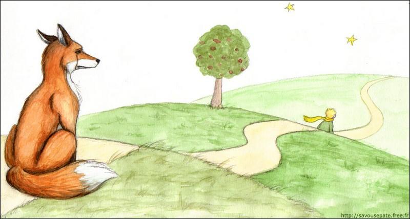 Dans le Petit Prince de Saint Exupéry, qu'apprend le renard au Petit Prince ?
