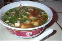 De quel pays est originaire la soupe de Miso, faite de pâte de haricot soja fermentée et salée ?