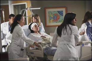 Dans quelle saison, Callie-t-elle a eu un accident ?