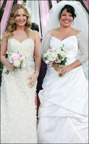 Avec qui Callie s'est-elle mariée ?