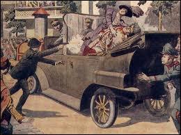 L'élément déclencheur de la Première Guerre mondiale fut l'assassinat de l'archiduc d'Autriche ...