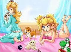 Les filles de la bande à Mario