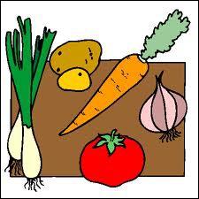 Comment se présentent des légumes découpés  en julienne  ?