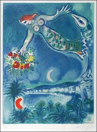 Qui a peint Sirène et poisson ?