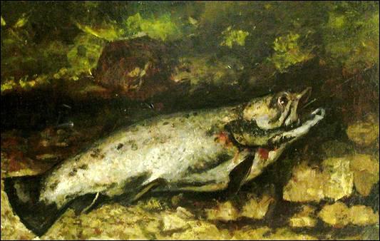 Qui a peint La truite ?