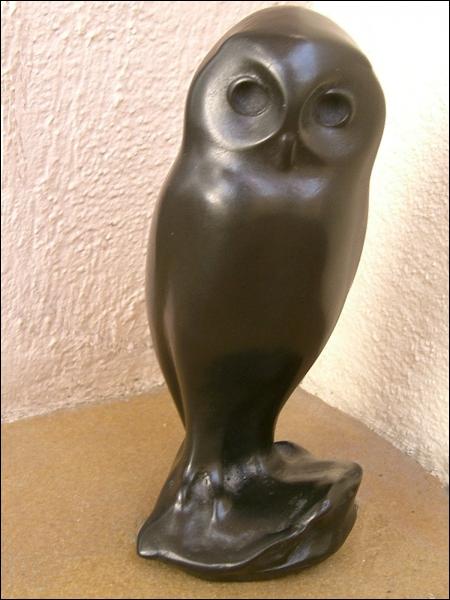 Cette  Jeune chouette  en bronze est visible au Musée des Beaux-Arts de Dijon. De quel sculpteur animalier est-elle une oeuvre ?