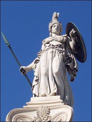 La chouette est le symbole de la déesse grecque de la sagesse. Qui est cette déesse ?