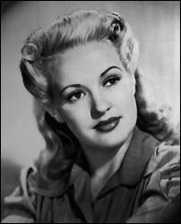 En 1943, elle incarna la pin-up par excellence pour les soldats américains qui combattaient outre-mer...