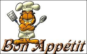Qu'est-ce que Garfield adore manger par-dessus tout ?