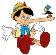 A quelle occasion le nez de Pinocchio se met-il à s'allonger ?