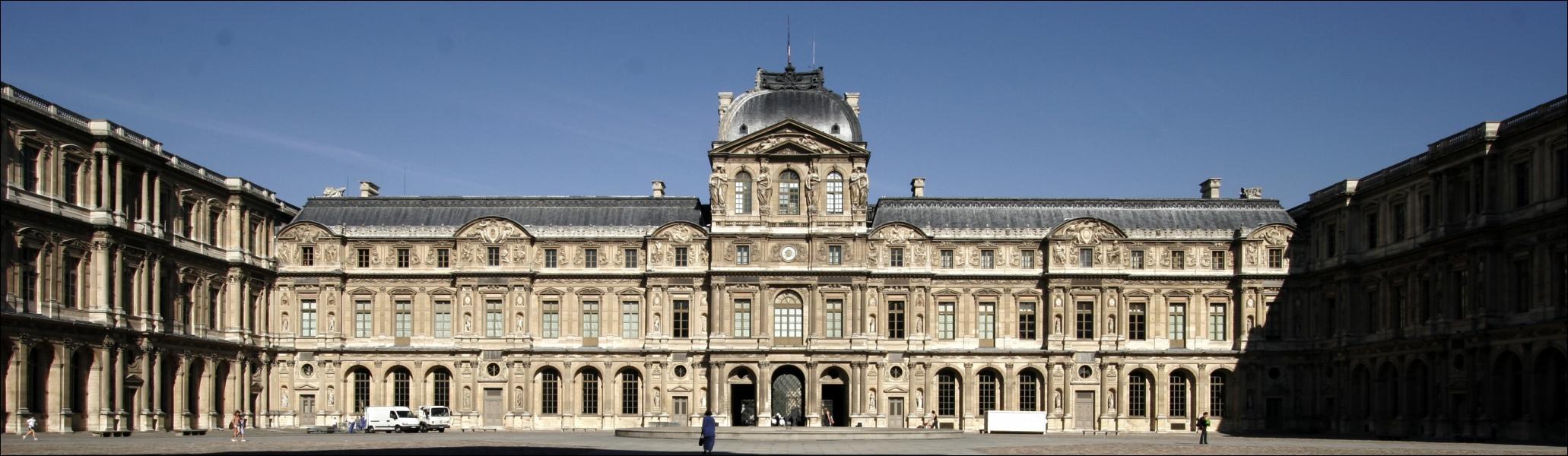 Louis XIV part du palais du ... .