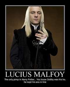 Comment s'appelle la femme de Lucius Malfoy ?