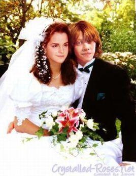 Les couples dans Harry Potter