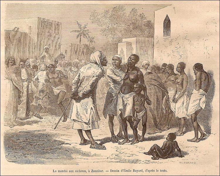 En 1843, dans quelle colonie française est aboli l'esclavage ?