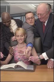Le mannequin Amber Valetta ici actrice dans une comédie avec Will Smith, dans laquelle elle est une milliardaire. C'est ?