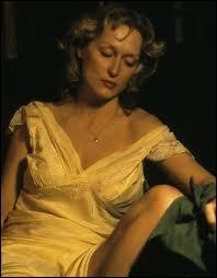 Dans ce film Meryl Streep parle avec l'accent polonais. Il s'agit du film poignant ?